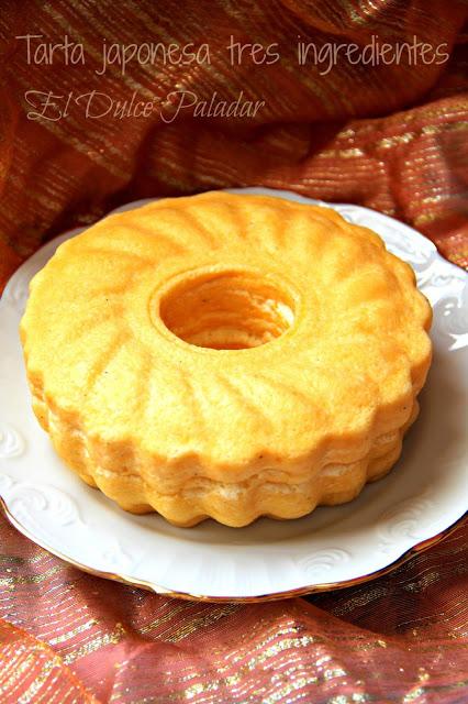 Tarta de queso japonesa de tres ingredientes (Tradicional y en Fussioncook)
