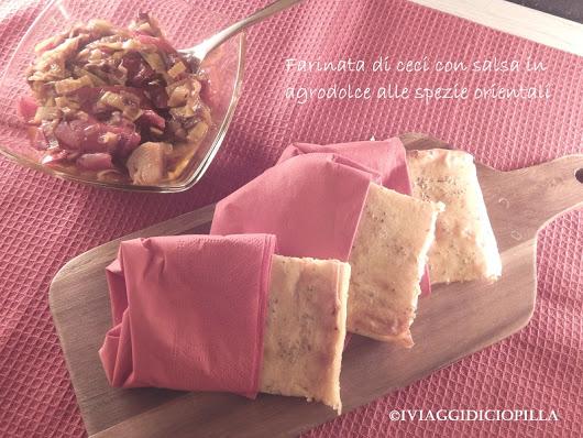 Farinata di ceci Tantì in salsa agrodolce alle spezie orientali