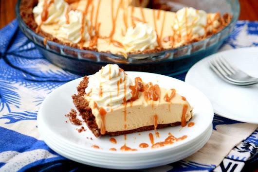 Cheesecake fácil de dulce de leche / No bake dulce de leche cheesecake