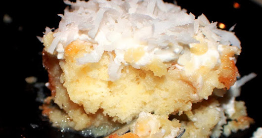 Cream of Coconut Cake Recipe