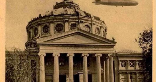 România văzută din… Zeppelin